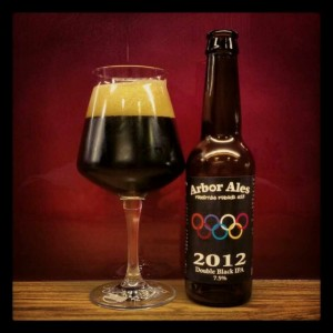 Arbor Ales Double Black IPA - highest ibu's in craft beer