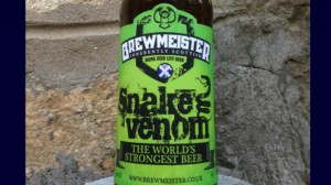 Snake Venom - craft beer's highest abv