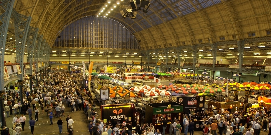 Olympia Exhibition Centre, home of the GBBF