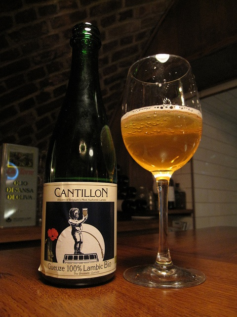 Sour beer from Cantillon