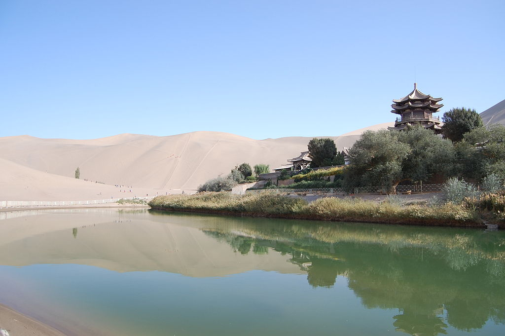 crescent lake buddhist personals Appreciate buddhist art,  check out 1 reviews and photos of viator's private dunhuang  enjoy a thrilling camel ride to the singing sand dune and crescent lake.