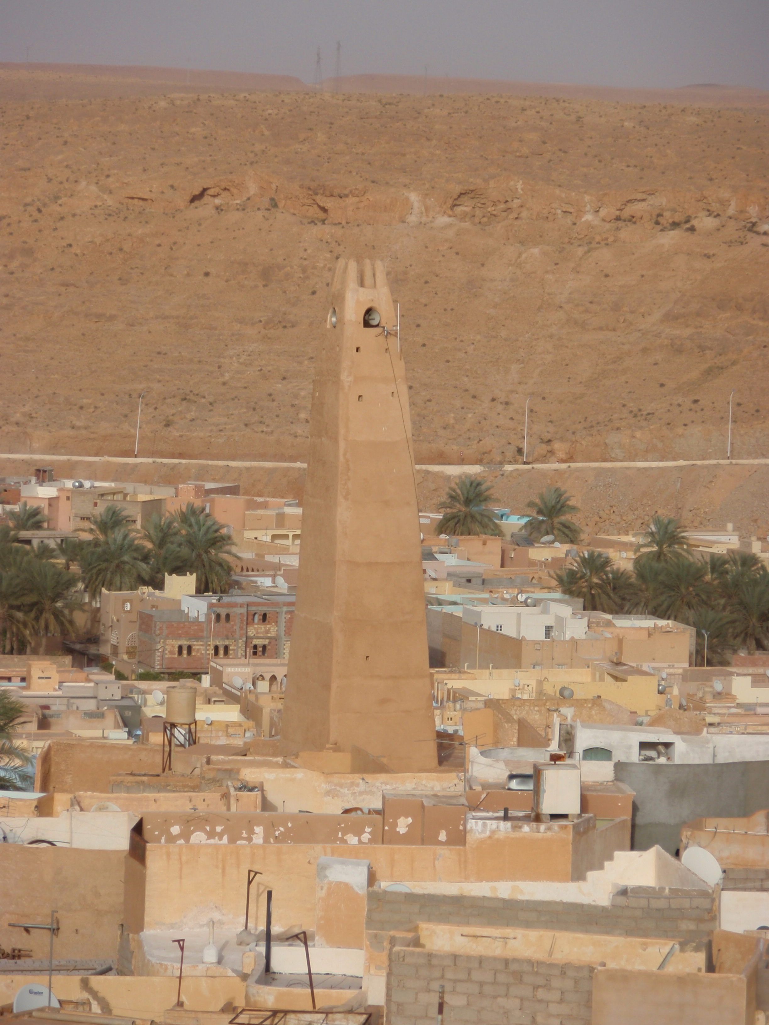 Minaret over Ghardaïa